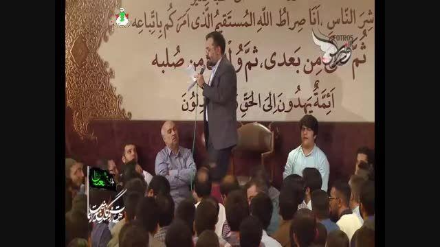 رجز خوانی حاج محمودکریمی-لعن الله علی اسرائیل