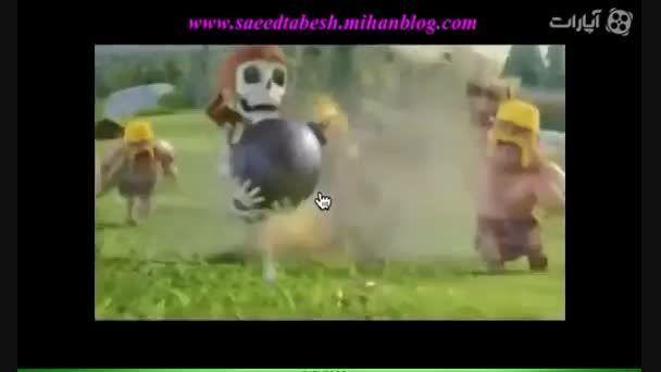 ♥ فیلم کلش آف کلنز ، خنده دار!!
