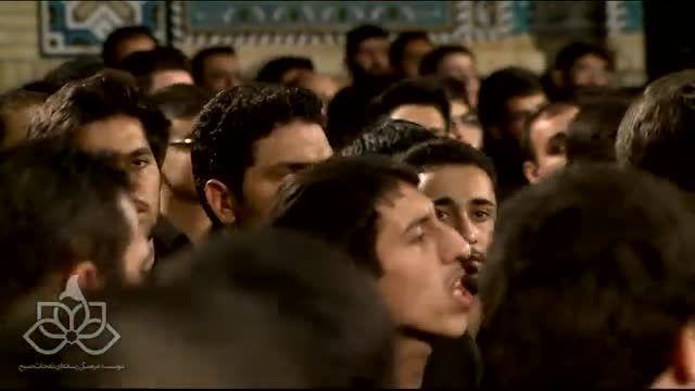 سینه زنی  بسیار زیبا شب هشتم محرم 94 / حاج مهدی سلحشور