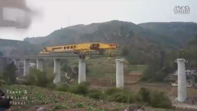 جدیدترین تکنولوژی ساخت پل در چین