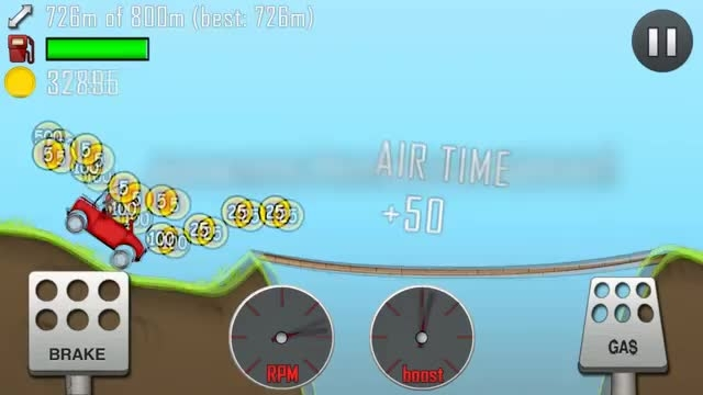 ویدئو اپلیکیشن Hill Climb Racing