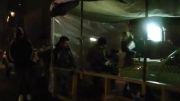 قسمتهایی از پشت صحنه فیلم سر به مهر | تله سینما
