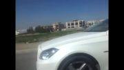 درگ BMW 535 و بنز CLS 350