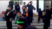 جوگیری پسر عرب در  نوحه سینه زنی