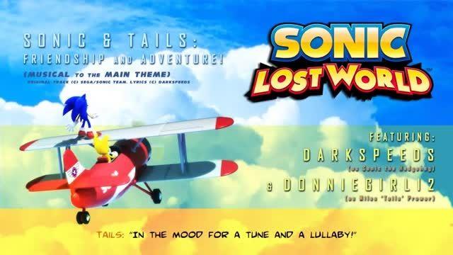 Sonic Lost World  - Sing
