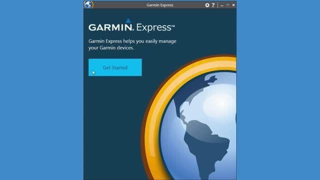 نحوه نصب و استفاده از Garmin Express گارمین