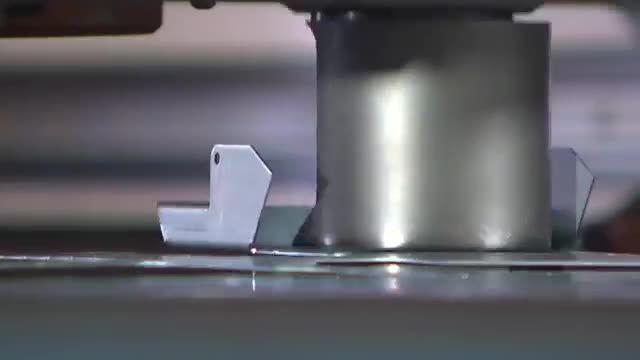 دستگاه پانچ پرس CNC شرکت LVD