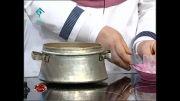 آشپزی-خورشت خلال بادام کرمانشاه-جمشیدی.