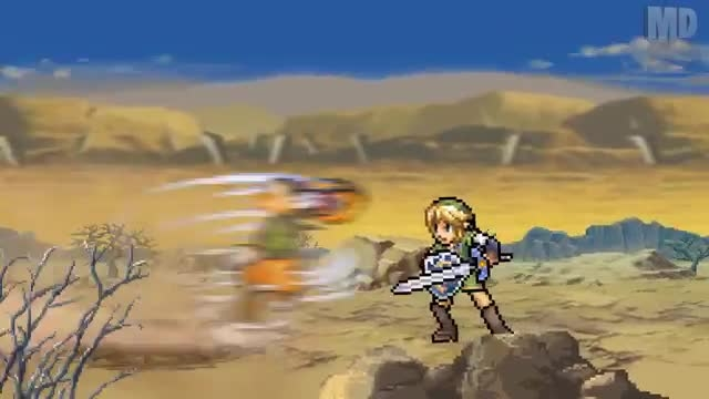 ONE MINUTE MELEE:Link vs Sora(Zelda VS final fantasy)1