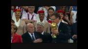 مراسم گرفتن جام آلمان