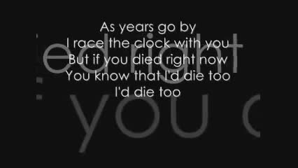 Story of The Year - Until the day i die lyrics