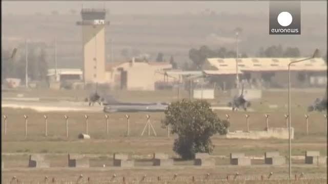 حمله همزمان جنگنده های ترکیه به مواضع داعش و پ.کا.کا