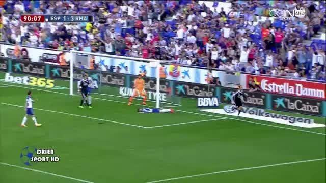 رئال مادرید 4 - 1 اسپانیول (گل سوم کریستیانو رونالدو)