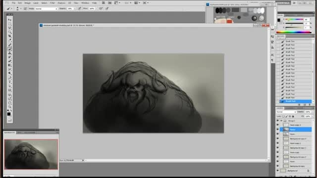 آموزش نقاشی دیجیتال بوسیله قلم نوری و نرم افزار فتوشاپ