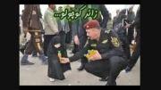 وقتی که پلیس عراقی خادم الحسین می شود ....