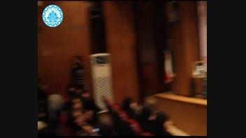 مراسم روز دانشجو در دانشگاه صنعتی شریف 16 آذر 93