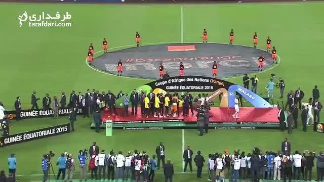 ویدیو؛ مراسم اهدای جام و جشن قهرمانی تیم ملی ساحل عاج