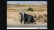 تصاویر عجیب پیاده تا کربلا با پای فلج مادرزاد