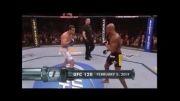 برترین ناک اوت های UFC - شماره 1