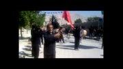 زنجیر زنی روز تاسوعا با مداحی عمار جمالی نژاد