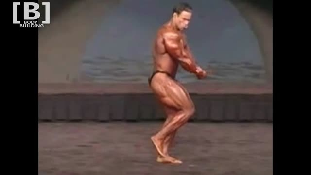 Kevin Levrone showed off amazing body at 2000 Mr Olympi