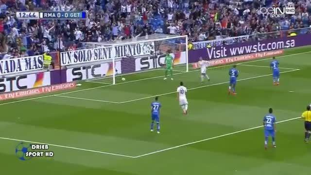 رئال مادرید 1 - 0 ختافه (گل اول کریستیانو رونالدو) عربی