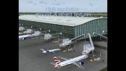 شلوغ ترین فرودگاه اروپا برای شبیه ساز