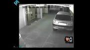 سرقت وحشیانه از زن در پارکینگ