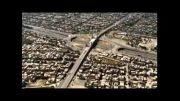 تصویربرداری هوایی ساخت پل کابلی میدان امام حسین (ع)