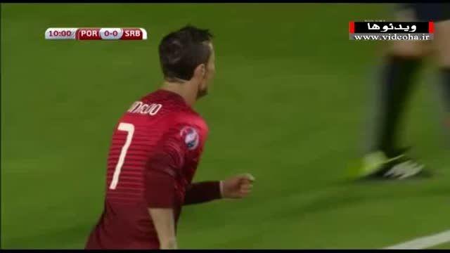 پرتغال ۲-۱ صربستان