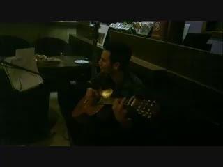 اجرای آهنگ خودم به اسم نامرد تو کافه