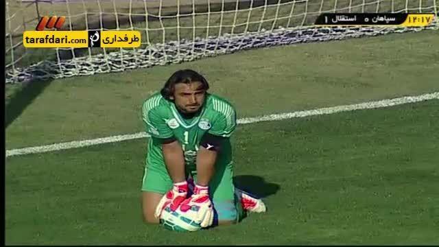 خلاصه بازی سپاهان 0 - 3 استقلال