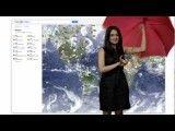 آب و هوا در گوگل مپ