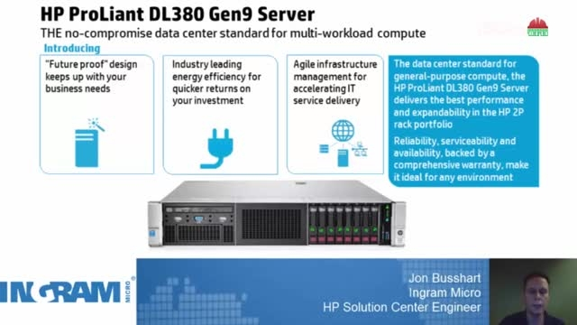 بررسی سرور HP DL380 Gen9