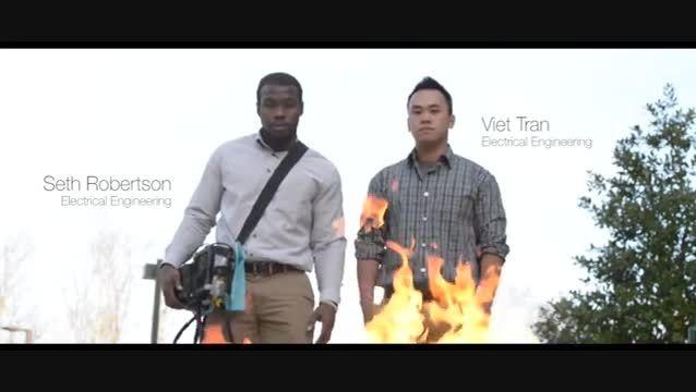 اختراع کپسول آتش نشانی صوتی