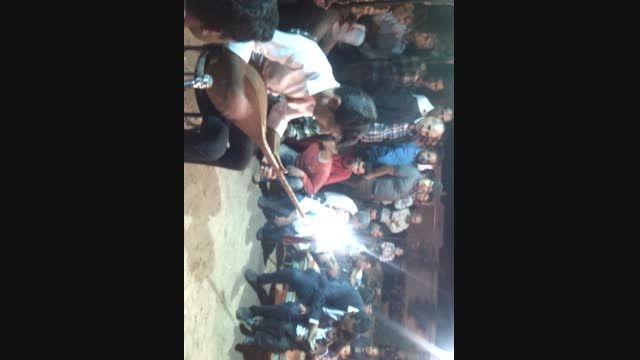 محمد امین عابد و ناصر یعقوبی اجرای شبانه قومنجان--