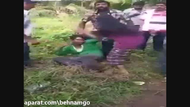 عاقبت مرد متجاوز در هند..!