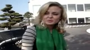 فارسی حرف زدن دختر بلژیکی عاشق ایران