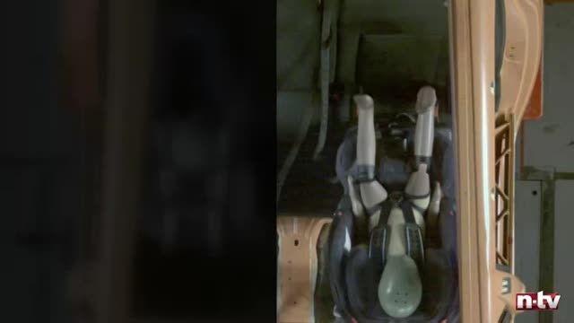 فیلم توضیحات و آزمایش ایمنی صندلی ماشین ، برند سایبکس