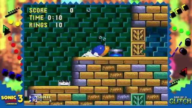 son of a glitch sonic 3 and knuckles part 1