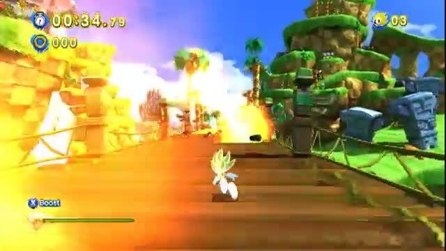 Sonic Generations mod - Amazing Super Sonic REVOLUTION