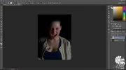 آموزش ویدئویی تبدیل تصاویر به خون آشام و خلق تصاویر ترس