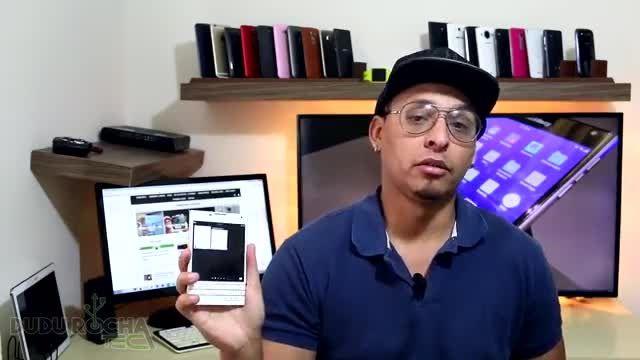 ویدئوی بلک بری پاسپورت مجهز به اندروید