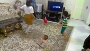 رقص آرتین در تولد یک سالگی مهرسا دختر عموی آرتین