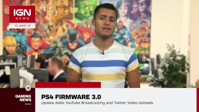 ویدیویی از بروزرسانی ۳٫۰ کنسول PS4 منتشر شد