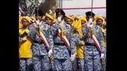 رژه زیبای نیروی هوایی ارتش در دانشگاه شهید ستاری