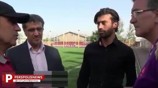 تفاوت مراسم معارفه بازیکنان در ایران با خارج از کشور