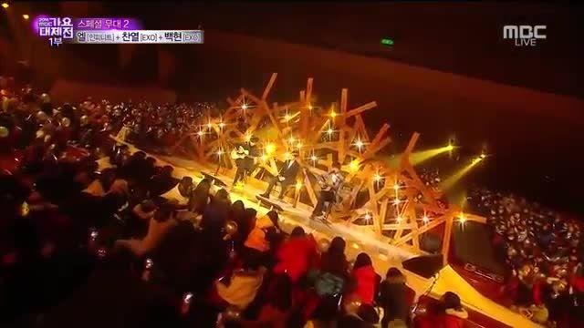 exo Chanyeol and Baekhyun and INFINITE L