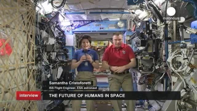 مصاحبه یورونیوز با فضانوردان مستقر در ایستگاه فضایی