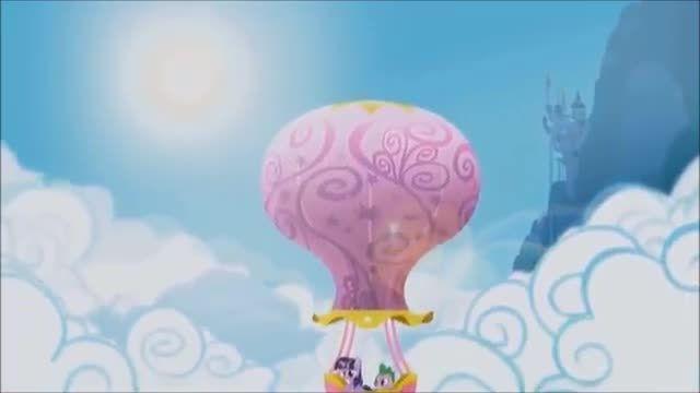 یکی از قسمت های پونی کوچولو به سبک اسباب بازی